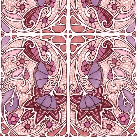 Against a Bubble Sky fabric by edsel2084 on Spoonflower - custom fabric