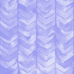 Watercolor Chevron in Lilac