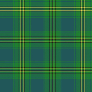 "Oliver hunting tartan, 6"" muted"