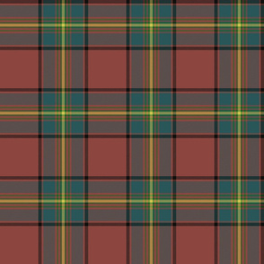 "Oliver tartan, 6"" muted"