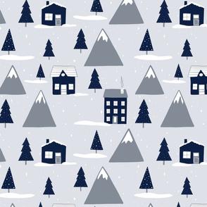 Winter Wonderland Gray