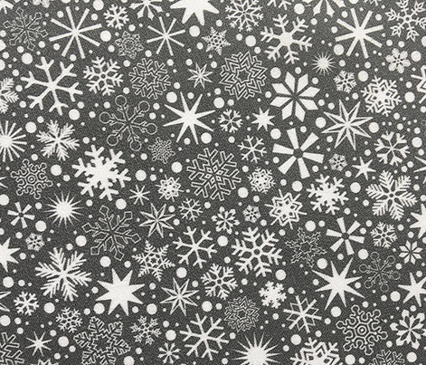 Let It Snow!* (Pepper Pot) || snowflakes ditsy star stars winter Christmas holiday