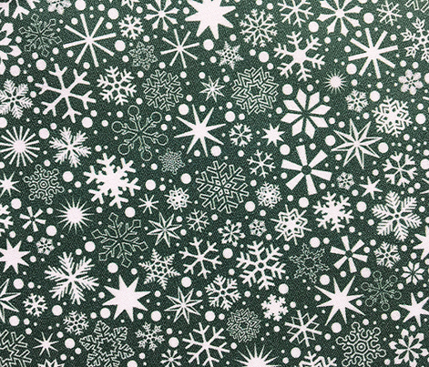 Let It Snow!* (Statue of Liberty) || snowflakes ditsy star stars winter Christmas holiday