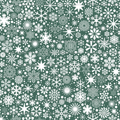 Let It Snow!* (Statue of Liberty)    snowflakes ditsy star stars winter Christmas holiday