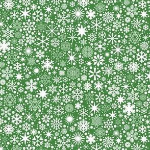 Let It Snow!* (Dollar Bill) || snowflakes ditsy star stars winter Christmas holiday