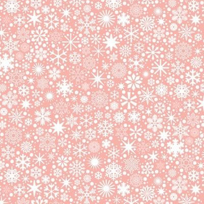 Let It Snow!* (Mona Lisa) || snowflakes ditsy star stars winter Christmas holiday