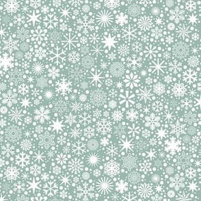Let It Snow!* (Camouflage) || snowflakes ditsy star stars winter Christmas holiday