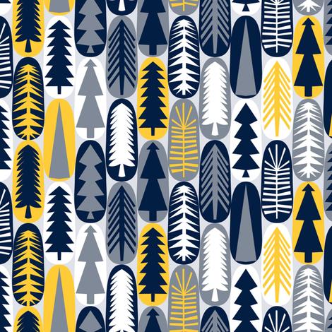 Modern Forest fabric by mag-o on Spoonflower - custom fabric
