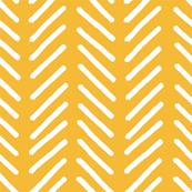 Woodland Chevron Gold