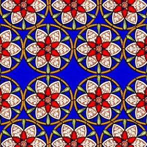 Stained glass mandalas