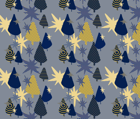 modxmas2017 fabric by amyjeanne_wpg on Spoonflower - custom fabric