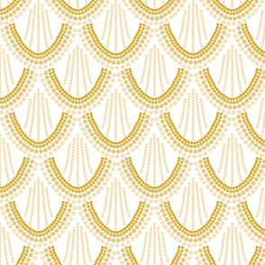 ombre mermaid scales // gold