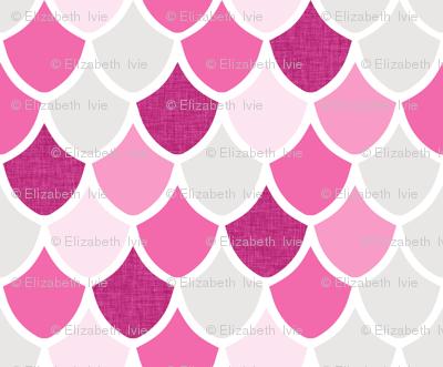 pink maui mermaid scales // pinks