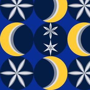 Snowy Mod Moon