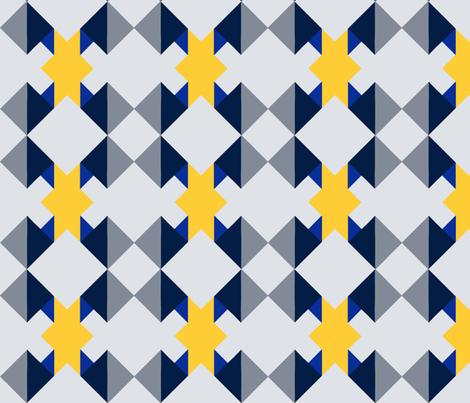 Mauna_Kea_Skylight-Sunrise_Winter_Mod-Ltd_Palette fabric by melvin_keohohou on Spoonflower - custom fabric