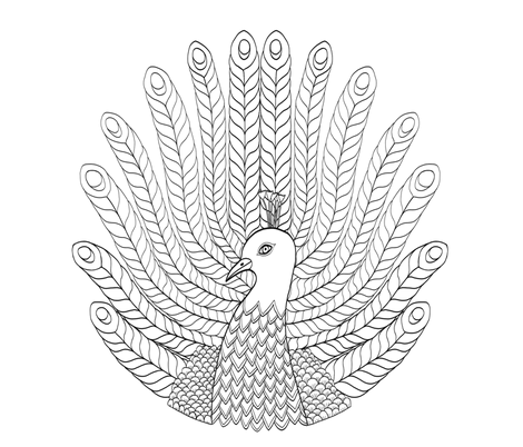 peacock fabric by sonjaveen on Spoonflower - custom fabric