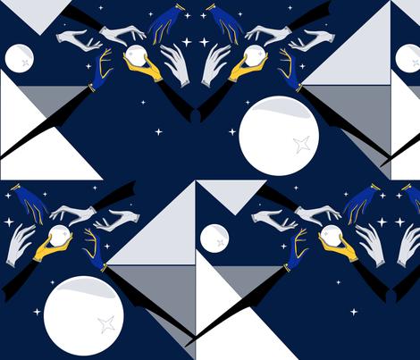 ModWinter fabric by bfm on Spoonflower - custom fabric