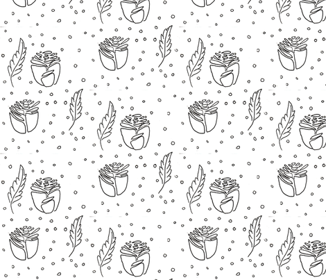 Roses fabric by lavender_rose on Spoonflower - custom fabric