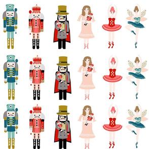 "nutcracker appliques - 6"" tall characters for appliques"