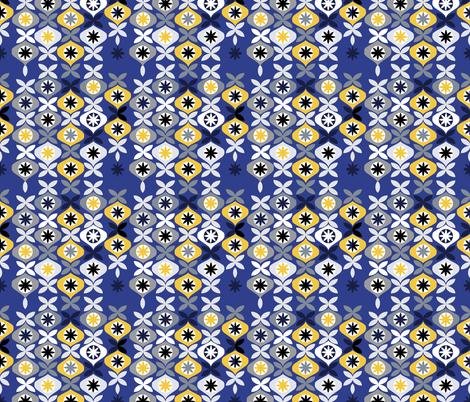 Christmas Mod fabric by daniela_glassop on Spoonflower - custom fabric