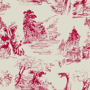 asian_toile_red