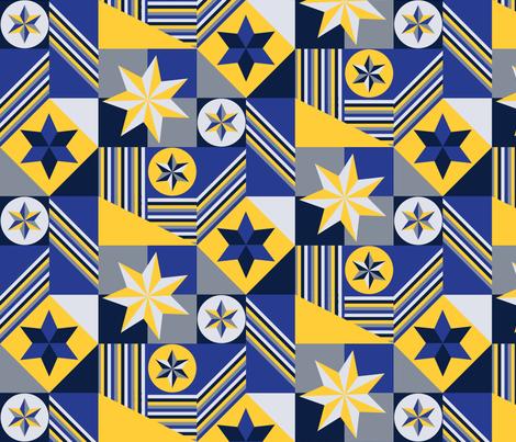 Winter Mod fabric by lprspr on Spoonflower - custom fabric