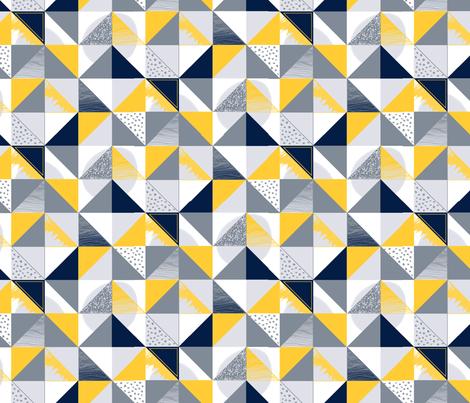 Winter_Geo_2018 fabric by ellie_b_funk on Spoonflower - custom fabric