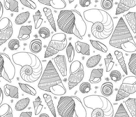 LakeBW fabric by fleabat on Spoonflower - custom fabric