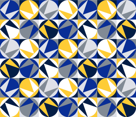Angular Winter fabric by tangled_vine_studio on Spoonflower - custom fabric