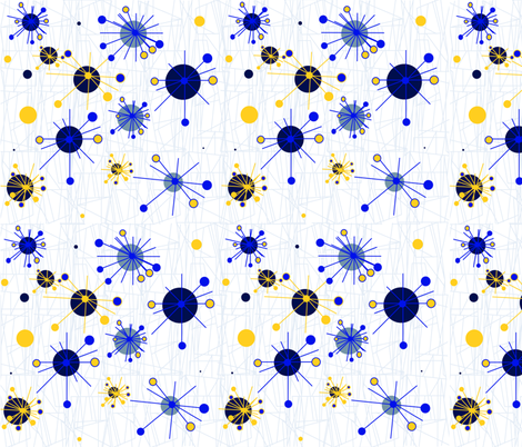 Twinkles Winter Modern fabric by gnarllymamadesigns on Spoonflower - custom fabric