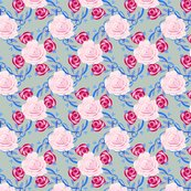 Rrwatercolor_roses_and_hand-drawn_vines_on_seafoam_green_shop_thumb