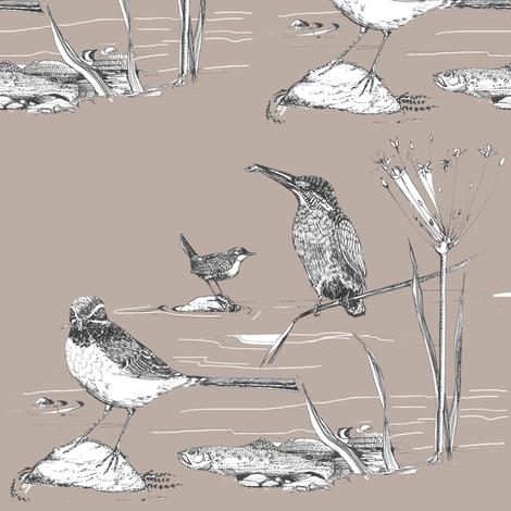 River Walk fabric by artist_chloe_birnie on Spoonflower - custom fabric