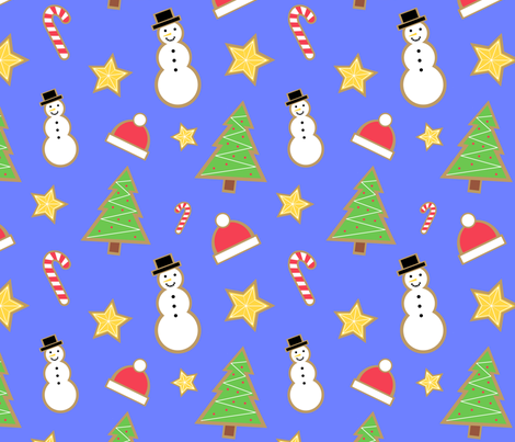 Delicious Gingerbreads fabric by buco_parade on Spoonflower - custom fabric