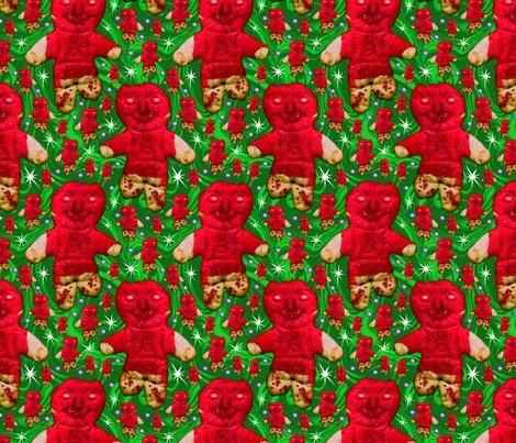 Gingerbread_UFO fabric by enid_a on Spoonflower - custom fabric
