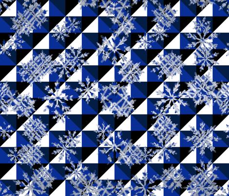 Winter_Mod_Limited_pallette fabric by deanna_konz on Spoonflower - custom fabric