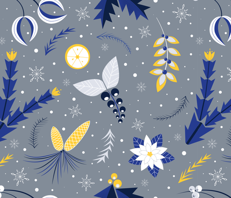 Winter_Wonderland_Limited_Spoon-01 fabric by juniperr on Spoonflower - custom fabric