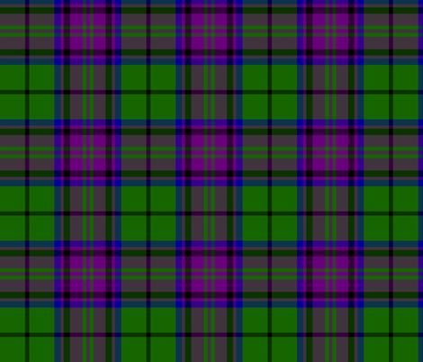 "Gary / Garry tartan, 6"" fabric by weavingmajor on Spoonflower - custom fabric"