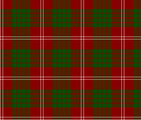 "Crawford tartan, 6"" dark fabric by weavingmajor on Spoonflower - custom fabric"