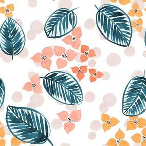 Tropical Leaf Foral
