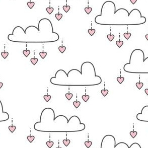 clouds-and-pink hearts
