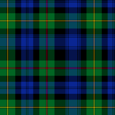 "Farquharson / MacEwen / McEwan tartan, 6"", from Vestarium Scoticum fabric by weavingmajor on Spoonflower - custom fabric"