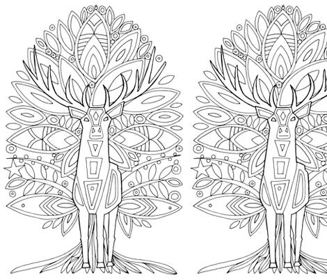 woodland prince fabric by scrummy on Spoonflower - custom fabric