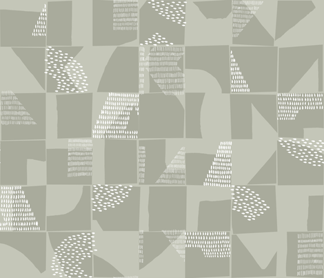 Neutral Large Scale Abstract Texture fabric by marketa_stengl on Spoonflower - custom fabric