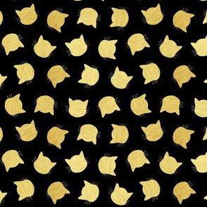 Black & Gold Cats