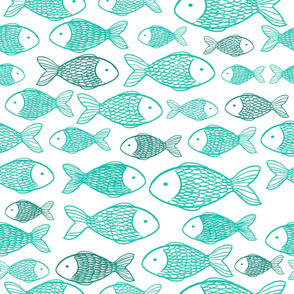 Fishes - Turquoise