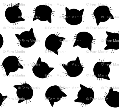 Cats in Black