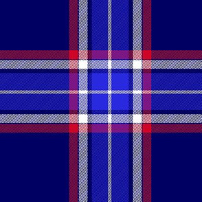 North Carolina unofficial tartan, 6""