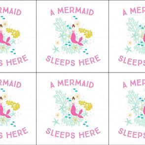 6 loveys: pink maui a mermaid sleeps here brunette