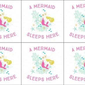 6 loveys: pink maui a mermaid sleeps here blonde