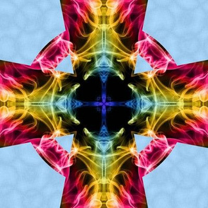 rainbow smokeceltic cross